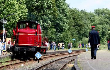 Annual event of the Zuid-Limburgse Stoomtrein Maatschappij (South Limburg Steam Train Company) or ZLSM is a heritage railway