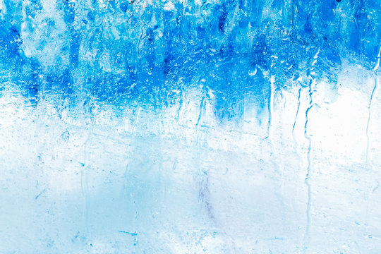 Ice cube texture background