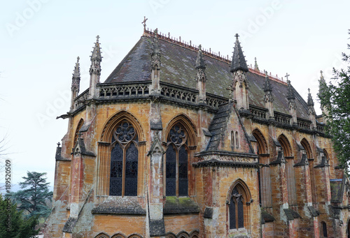 Old English Gothic Architecture