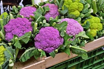 Blumenkohl auf dem Naschmarkt