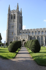Holy Trinity Church of England in Long Melford, Suffolk