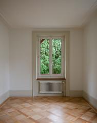 Fenster in Zimmer