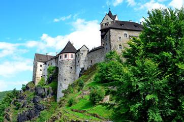 Burg Loket in Westböhmen