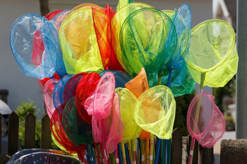 Fishing Landing Nets in many Colors