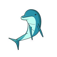 dolphin vector design