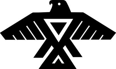 American Indian Thunderbird Totem