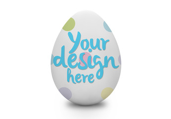Easter Egg Mockup 1