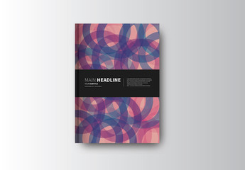 Abstract Book/Report Cover Layout 17