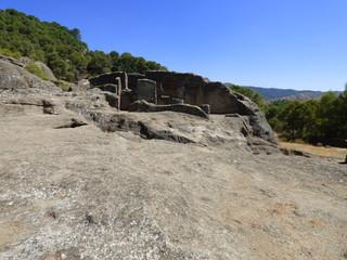Ruinas de Bobastro, Ardales, Guadalteba (Málaga) en Andalucia,España