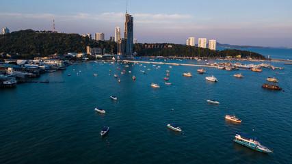 Aerial view of  Pattaya , Thailand