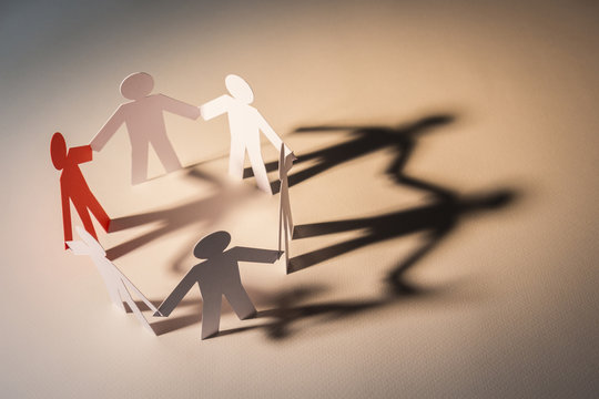 focus leadership of six team in light