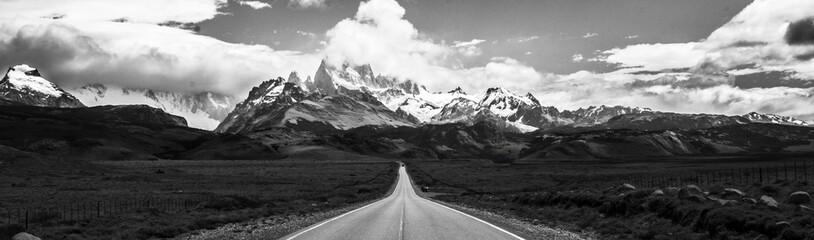 Photo sur Plexiglas Gris traffic Cerro Fitz Roy - Argentina El Chalten Trilha