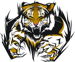 Tiger Vector Logo