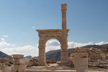 Ruins of the ancient city Sagalassos, Turkey