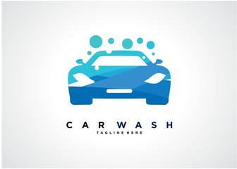 Car Wash Logo Template Design Vector, Emblem, Design Concept, Creative Symbol, Icon