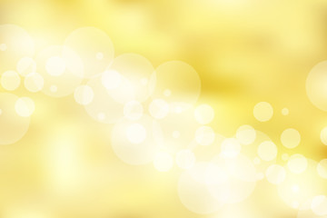 Gold background and texture with bokeh. elegant, shiny, luxury, Golden gradient mesh.