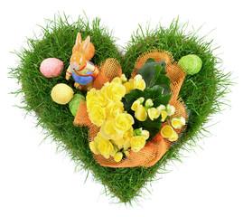 Ostern - Ostereier Herz