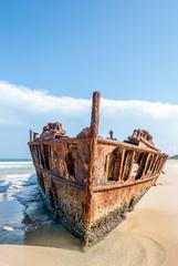 Foto op Plexiglas Schipbreuk Maheno Shipwreck Fraser Island