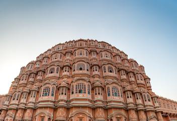 facade of Hawa Mahal (Palace of Winds) , Jaipur