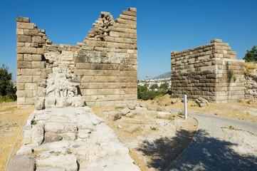 Ancient Myndos gate in Bodrum, Turkey.