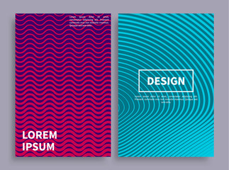 Design Covers Collection Vector Illustration