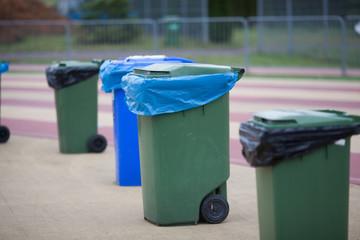 green waste bins