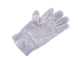 gloves on a white background