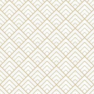 Seamless geometric diamond tile minimal graphic vector pattern