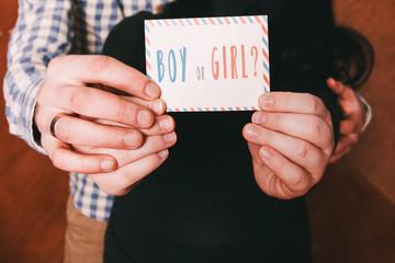 Boy or girl gender reveal party