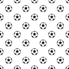 Football or soccer ball pattern vector
