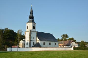 White Church over Nisa St. Nicholas