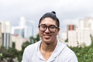 Portrait of Asian Guy