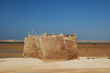 Cabane de pêcheur, Oman