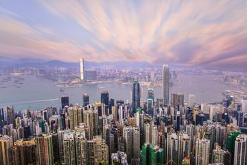 This photo is taken from legard road hongkong,china