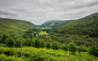 Scottish Highland valley