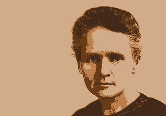 Marie Curie - scientifique - portrait - science - physique - chimie - personnage historique