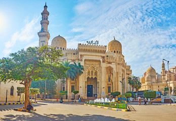 Printed roller blinds Egypt Abu al-Abbas al-Mursi Mosque in Alexandria, Egypt