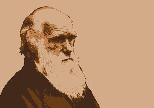 Darwin -  portrait - évolution -paléontologie - scientifique - théorie - personnage historique