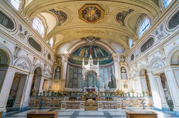 Santa Cecilia in Trastevere Church in Rome, Italy.
