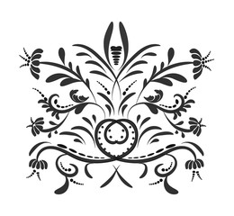 vector tattoo tribal drawing..