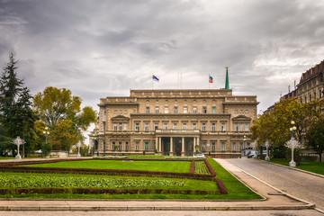 Belgrade, Serbia October 21, 2016: Building of the Belgrade Assembly
