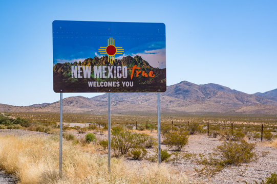 Welcome to New Mexico Sign