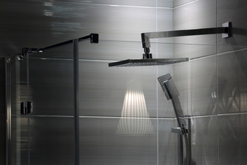 Fototapeta Luksusowa ekskluzywna łazienka, prysznic, natrysk.