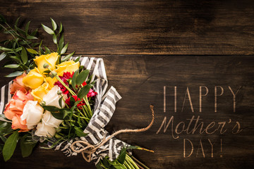 Happy Mother's Day Floral Background