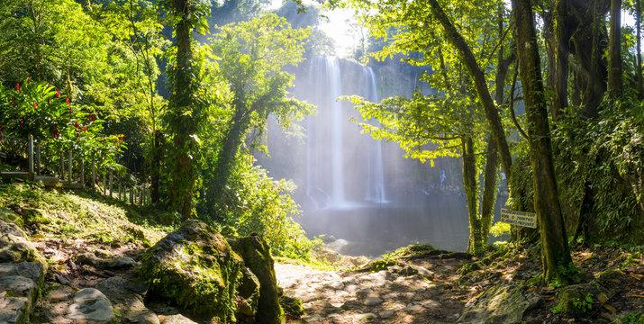 Misol Ha Waterfall Mexico
