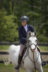 Arabian with Rider Portrait