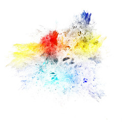 Mottled colorful background