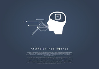 Artificial Intelligence Communication Infographic