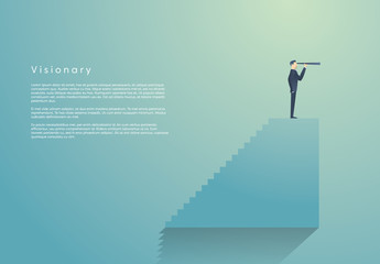 Business Visionary Infographic