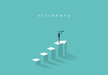 Business Visionary Illustration 3